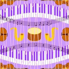 music in a purple haze