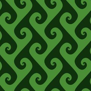 "4"" green vines"