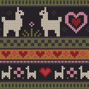 Llama Knit