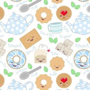 teatime blue
