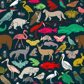 linocut animals // block print linocut design animals andrea lauren stamps carving