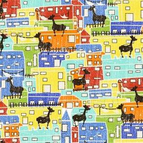 llamas from Lima