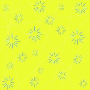 Yellow Starburst - Child/Adult scale