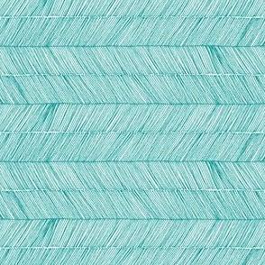 Herringbone - Peruvian Winter Blue