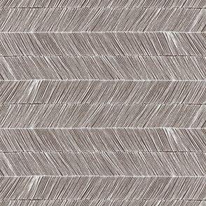 Herringbone - Peruvian Brown