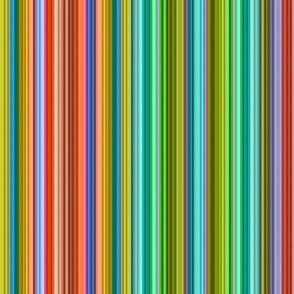 stitched stripes rainbow