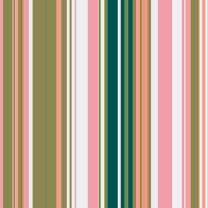 paradise blush stripe