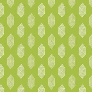 Hexagons in Green by Friztin