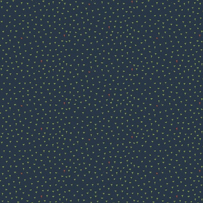 Sprouts in Navy Blue by Friztin