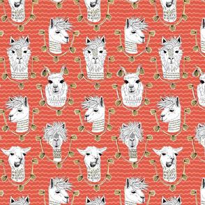 Llamas of Lima - Red
