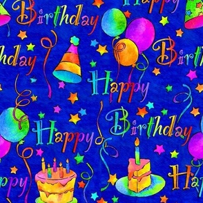 Happy Birthday!/Blue