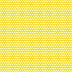 Micro Spot - White on Yellow