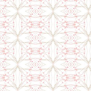 Dandelions (Pale Pink & Green)