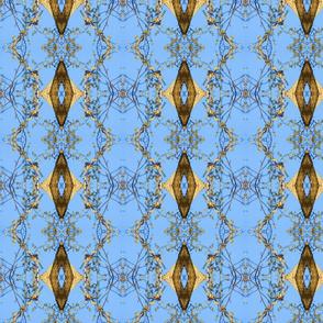 Birds & Branches (Diamond Blue)