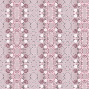 Turtles Pattern 2 (Gray & Pink)