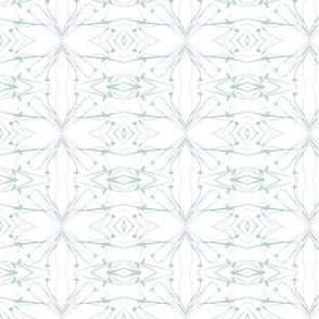 Dandelions (Pale Blue & Green)