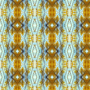 Plumes Pattern 2 (Gold)