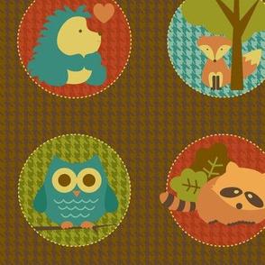 Cuddly Woodland Circles