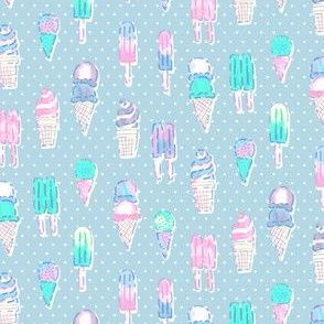 Nice Ice Creams - Blue