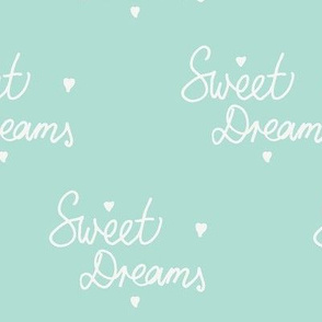 Sweet Dreams in Mint