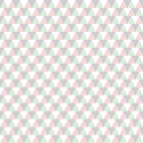 triangles_pink_grey_mint_animal_print_colours_1inch