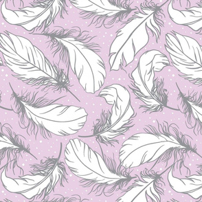 feather lilac