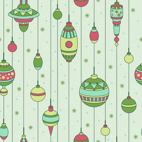 Classic Ornaments (Merry)