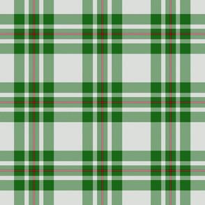 "MacGregor dress green tartan, 6"""