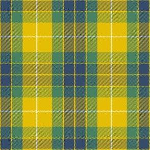 "Fraser yellow tartan, 6"""