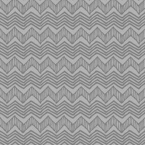 Robot Waves (Gray)