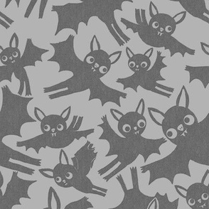 Halloween Bats in licorice