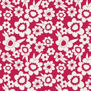 Daisy Pop Mono Pink