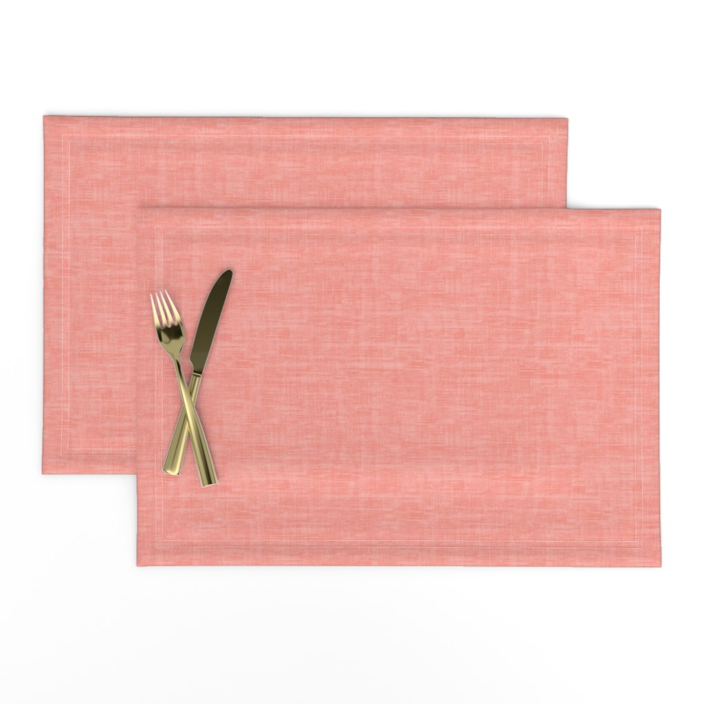 Lamona Cloth Placemats featuring Coral Texture by kimsa