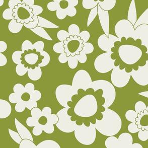 Daisy Pop Mono Green