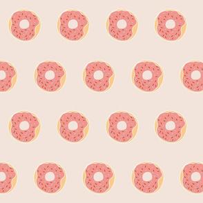 Strawberry Donut Fabric Design