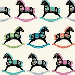 Folk Art Rocking Horses