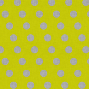 Lacewing Polka in Yellow