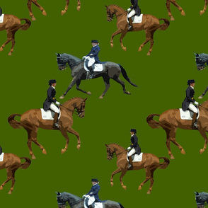 Carriage Trade Dressage Olive