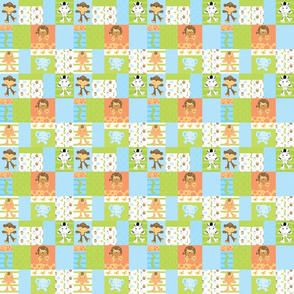 Jungle Patchwork Small