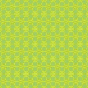 Lime Hexies