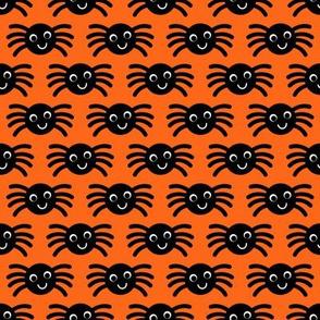 Orange Smiley Spiders