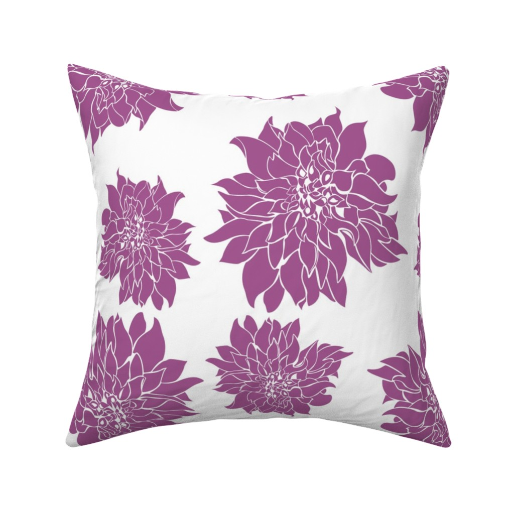 Catalan Throw Pillow featuring Villa Orchid by arboreal