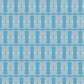 Abstract Blue Motif