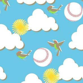 Fly ball!