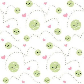 Happy Tennis Balls