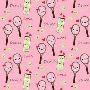 Happy Tennis - Pink