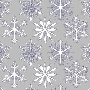 Snowflakes_light gray