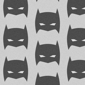Super Hero Bat Mask Vintage Distressed Large