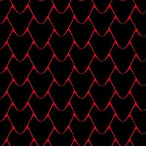 Black dragon scales