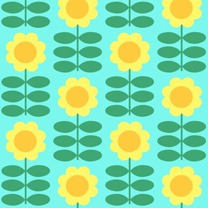 Frozen Fever Inspired Scandinavian Sunflower